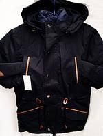 Зимняя куртка парка для мальчика №0850