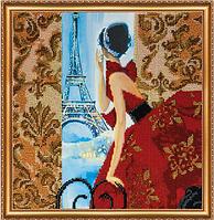 Набор для вышивания бисером Окно в Париж AB-274