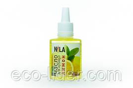 Масло для кутикулы с запахом лимона, ТМ Nila 30 мл