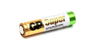 Батарейка минипальчиковая GP Super alkaline (AAA, LR03)