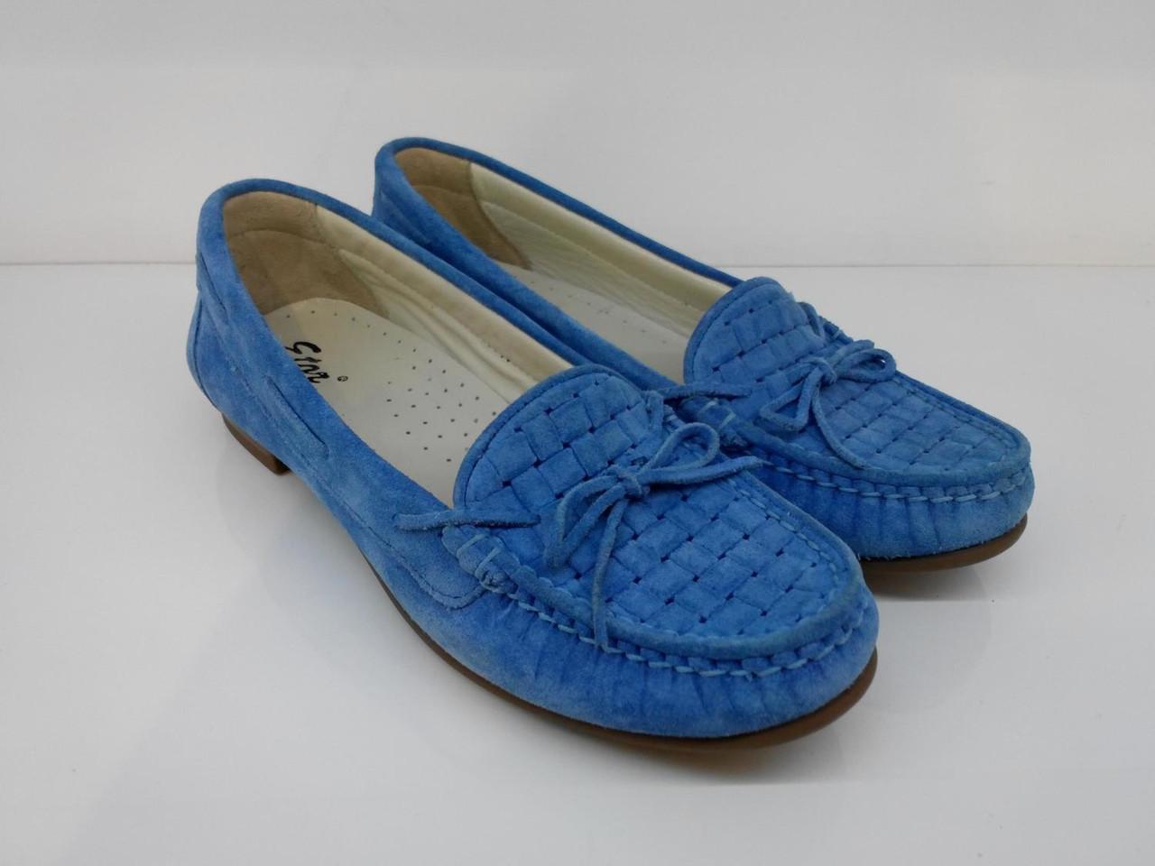 Мокасины Etor 3729-1322-0511 37 синие