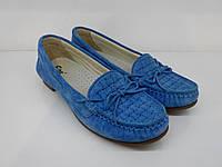 Мокасины Etor 3729-1322-0511 37 синие, фото 1