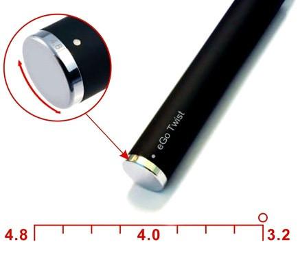 Электронная сигарета EGO-C Twist 1100 mAh