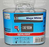 """Автомобильные галогенные лампы """"REALIGHT"""" (H1)(Mega White)(12V)(55W), фото 2"""