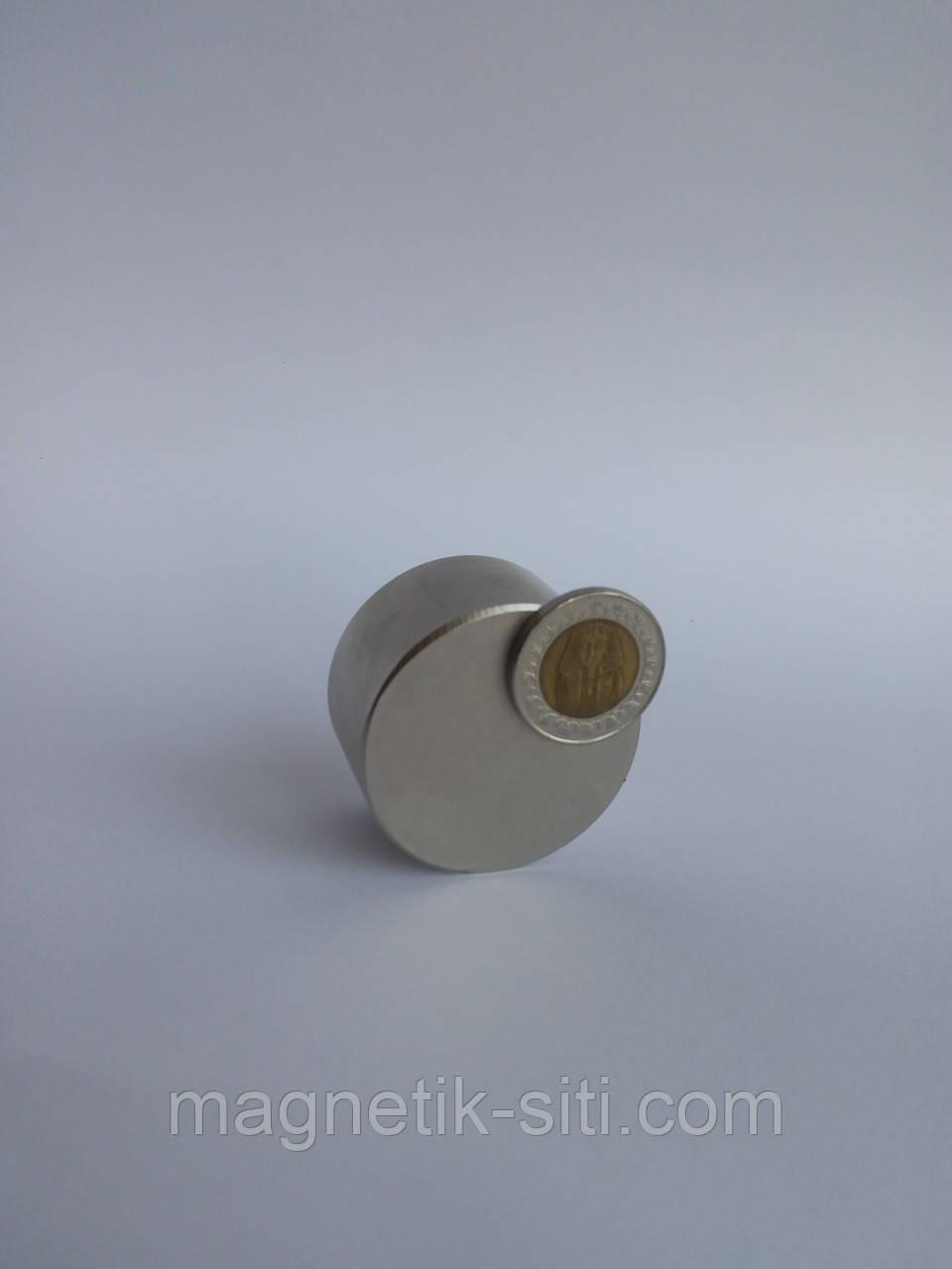 Магниты неодимовые 45*25 N42