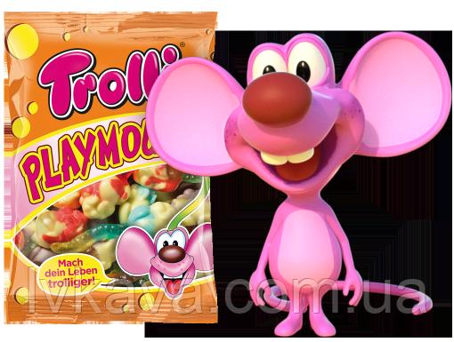Желейные конфеты Trolli Playmouse  , 200 гр