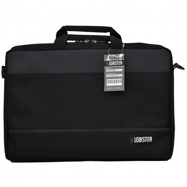 "Сумка для ноутбука Lobster 13-14"" Серо-черная (LBS14T2BP)"