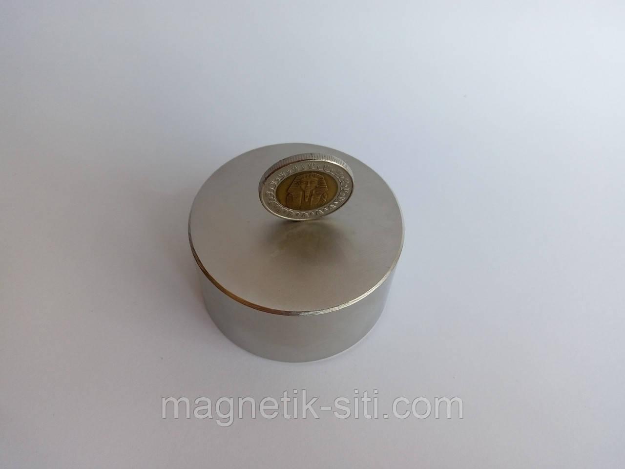 Магнит неодимовый 60*20