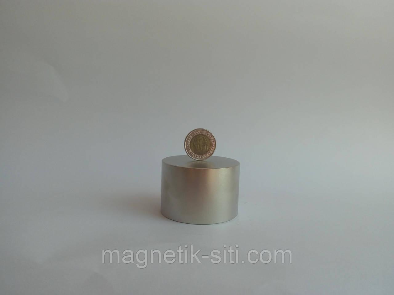 Магнит неодимовый 60*40 N42