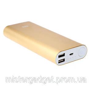 Портативный Powerbank 16000mAh Gold павербанк
