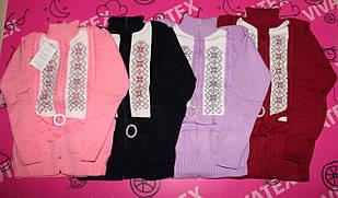 Детский свитер Модель № 10 новый вышивка акрил