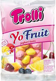 Желейные конфеты Trolli Yo Fruit  , 200 гр