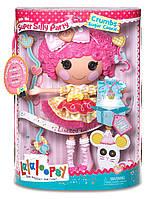 Большая Кукла Лалалупси Печенюшка Сладкоешка 33 см Lalaloopsy Super Silly Party Large Doll Crumbs Sugar Cookie