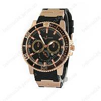 Мужские наручные часы Ulysse Nardin (черные)