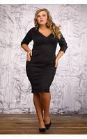Женское Платье Венисуэлла черный (48-72)*