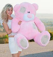 Мишка Тедди плюшевый розовый 160 см