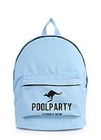 Рюкзак молодежный POOLPARTY backpack-kangaroo-blue