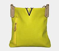 Яркая женская сумка через плечо 35302