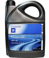 Моторное масло GM Semi Synthetic 10W-40 5L Полусинтетическое