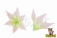 Цветы Лилии Кремовые из ткани 17 см 1 шт
