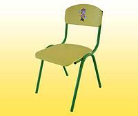 Стульчик детский №3 гнутый 300х300х340 ISO крашенный