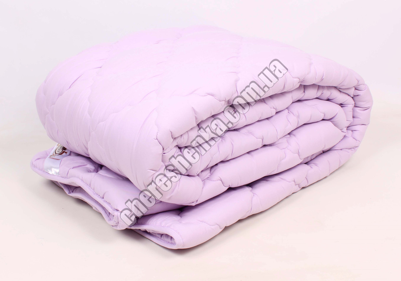Двуспальное одеяло микрофибра/шерсть 001