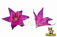 Цветы Лилии Лиловые из ткани 17 см 1 шт