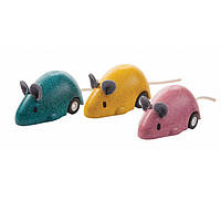 Деревянная игрушка Plan Тoys - Бегающая мышка