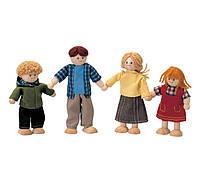 """Деревянная игрушка """"Кукольная семья"""", PlanToys"""