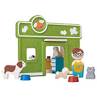 Деревянный игровой набор Plan Тoys Содержание домашних животных (6616)