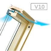 Cреднеповоротные деревянные окна FTS-V U2