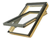 FTU-V U3 55х78 Среднеповоротное деревянное окно