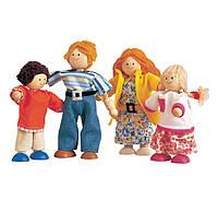 """Деревянная игрушка """"Современная кукольная семья"""", PlanToys"""