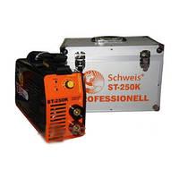 Инверторный сварочный аппарат Schweis ST-250K PROFESSIONAL AL Кейс