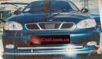 Защита переднего бампер (дуга, усь) Daewoo Lanos, Sens Део ланос сенс