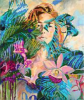 Схема для вышивки бисером POINT ART Тропики, размер 25х30 см