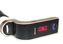 FM-модулятор G7 + Bluetooth (Золото)  Оригинал, фото 2