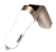 FM-модулятор G7 + Bluetooth (Золото)  Оригинал, фото 3
