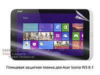 Глянцевая защитная пленка для Acer Iconia W3 8.1
