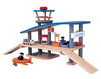 """Деревянная игрушка """"Аэропорт"""", Plan Toys"""