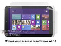 Матовая защитная пленка для Acer Iconia W3 8.1