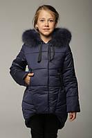 Зимняя куртка Maя цвета джинс