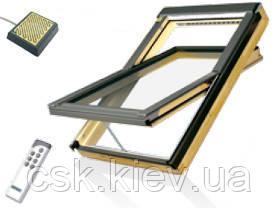 FTP-V U3 Electro 78х140 Среднеповоротное деревянное окно