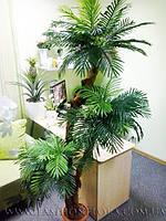Искусственная трехствольная  финиковая пальма 190 см