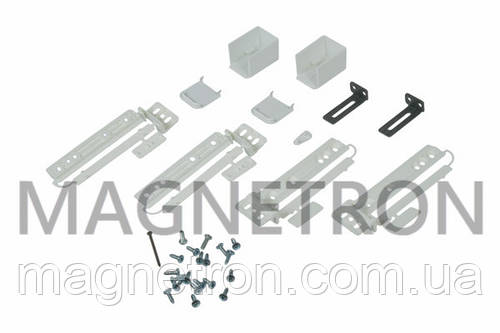 Комплект креплений фасада дверей для встраеваемого холодильника Electrolux 2367134331 (2367134232)