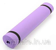 Детский коврик (каремат) для занятий спортом/йога мат  6 мм, 50х150 см