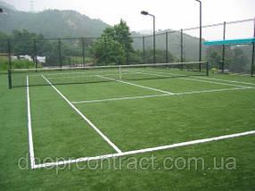 Искусственная трава для тенниса Newgrass T6-ITF 9 покрытие для теннисных кортов/мультиспорта/волейбола