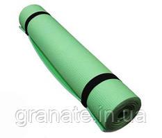 Каремат для фитнеса\ йога мат, коврик 6 мм, 180х60 см