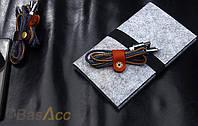 Кабель джинсовый micro USB - 20 см, фото 1