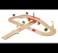 Дорожная сеть (де люкс) Plan Тoys